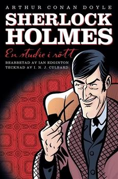 Bild på Sherlock Holmes: En studie i rött