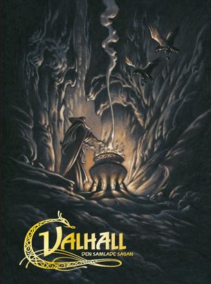 Bild på Valhall: Den samlade sagan 4