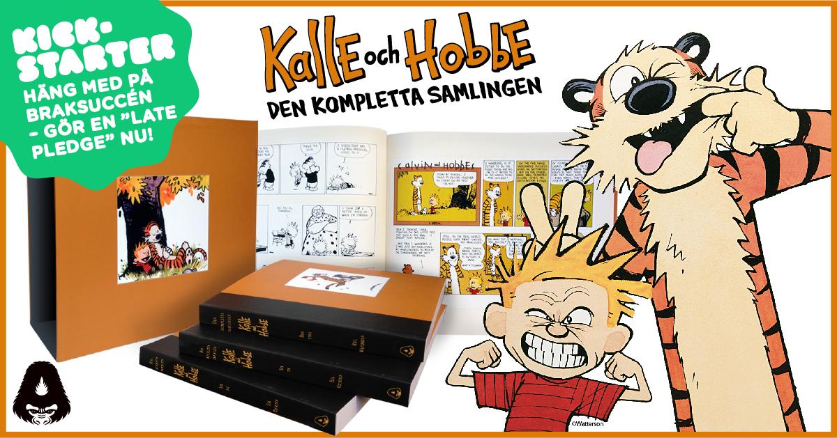 Var med och backa lyxutgåvan av Kalle och Hobbe!